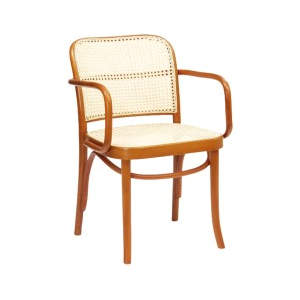 Diva Cane Wooden Seat Armchair