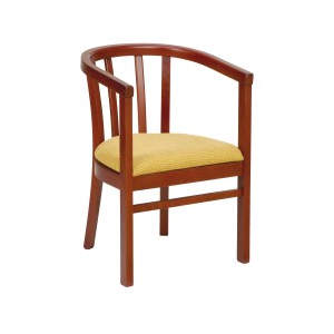 Frances Seat Wooden Seat Armchair