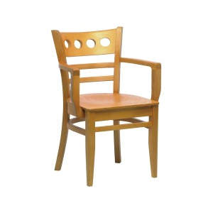 Baltimore Solid Seat Wooden Armchair