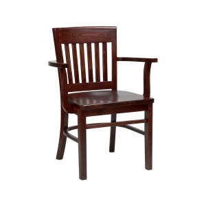 Boston Solid Seat Wooden Armchair