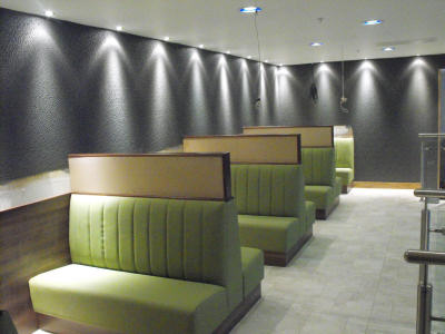 Bespoke Furniture Bar Seating Fixed Seating Banquette