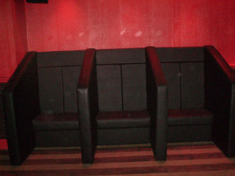 Private Eyes Dumferline  - Another Example of Bar Seating from SIG Contracts