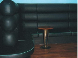 Private Eyes Aberdeen - Another Example of Bar Seating from SIG Contracts