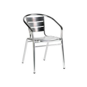 Catalina Armchair Aluminium Stacker