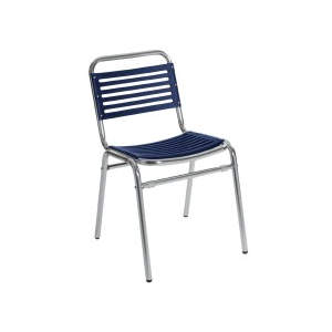 Alicia Side Chair Blue Stacker