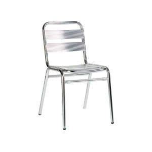 Catalina Side Chair Aluminium Stacker