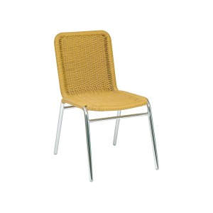 Catalina Side Chair Beige Stacker