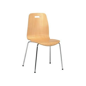 Comet Veneer Seat Side Chair