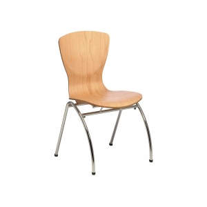 Mars Sidechair Veneer Seat Side Chair