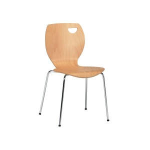 Meteor Veneer Seat Side Chair