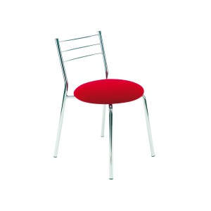 Pelham Chrome Seat Side Chair