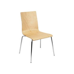 Space Veneer Seat Side Chair