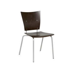 Turin Natural Veneer Seat Side Chair