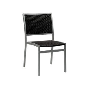 Villa Aluminium-java Stacker Side Chair