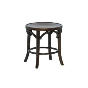 Bentwood Veneer Wooden Seat Low Stool