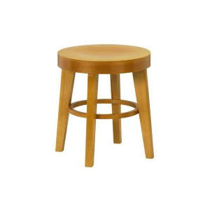 Brooklyn Veneer Wooden Low Stool