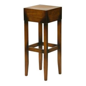 Oscar Veneer Wooden Seat Highstool