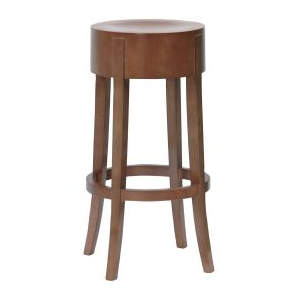 Jury Veneer Wooden Seat Highstool